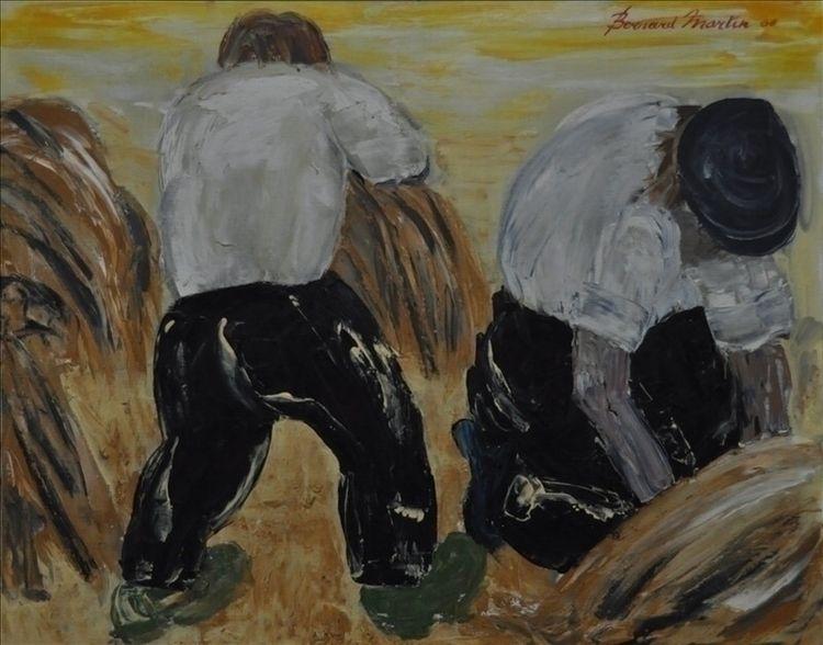 De oogst (harvest) Olie op doek - ben-peeters | ello