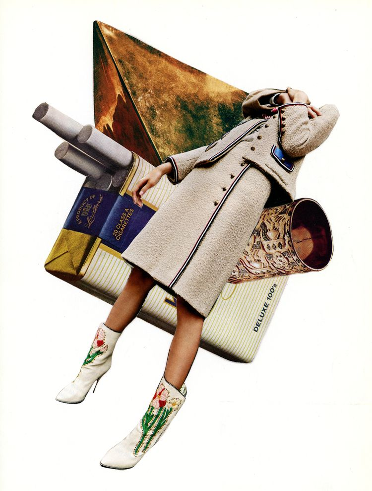 Mikhail Siskoff collage artist  - keysgoclick | ello