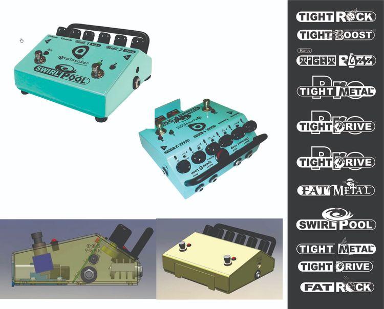 Amptweaker Guitar Pedal Design  - bobhopkins   ello