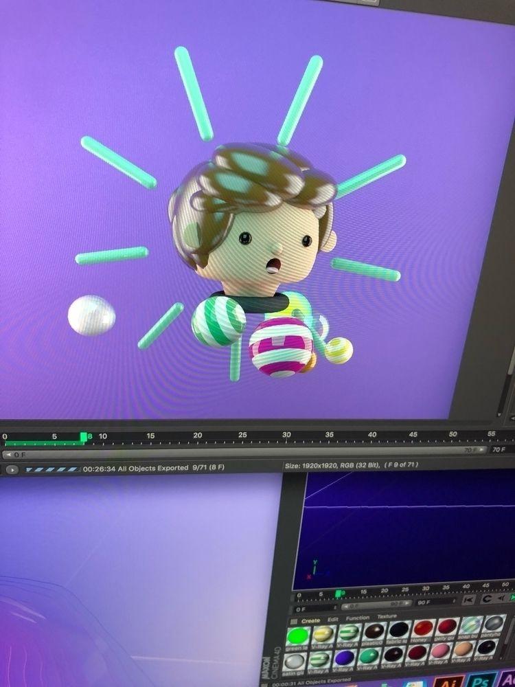 3D Animation Cinema 4D - laureanolojo | ello