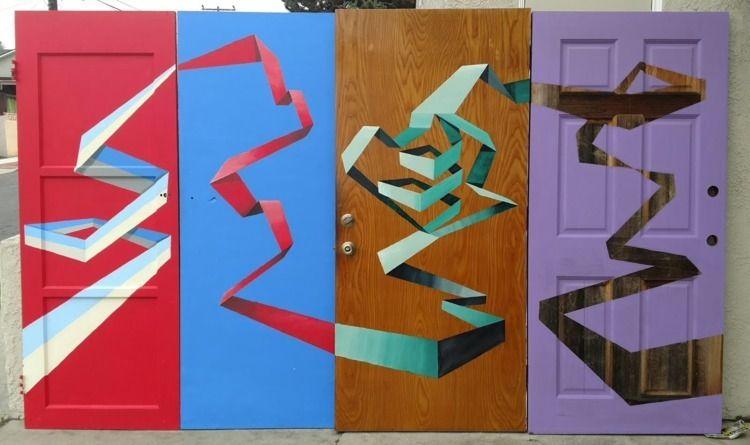 Doors Enamel Wood. Andrew Harle - andrewharleyartpage | ello