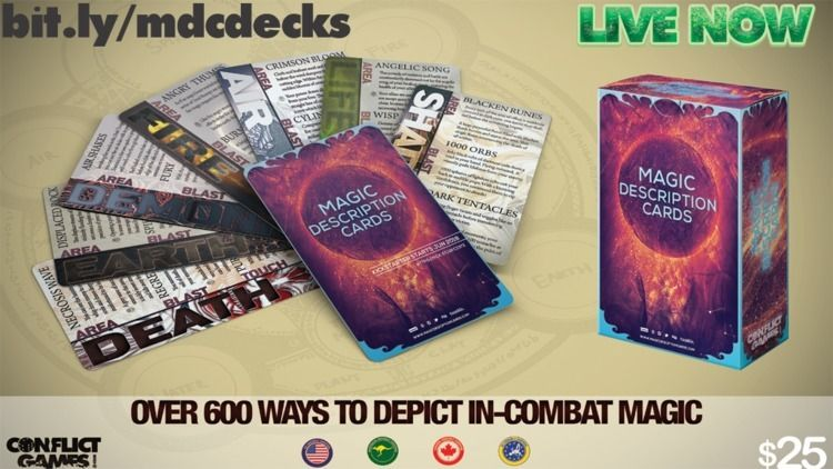 Magic Description Cards live - markmscott | ello
