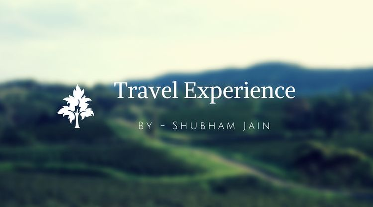 Travel lover Chandigarh. writte - shubhamjain713 | ello