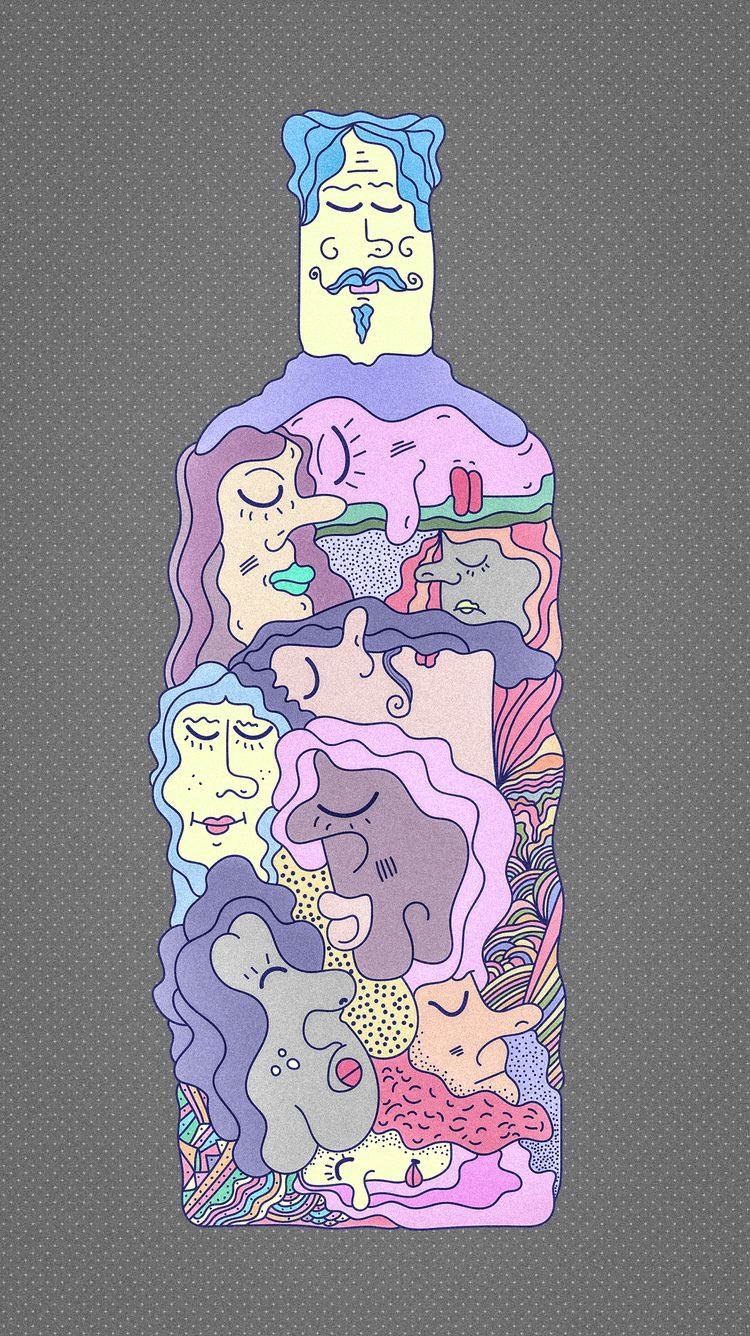 ABSOLUT ZEN - Illustration, DigitalArt - tameem | ello