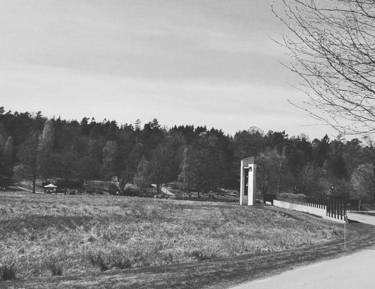Klockstapeln på Kvastekulla Gri - skogskyrkogardar | ello