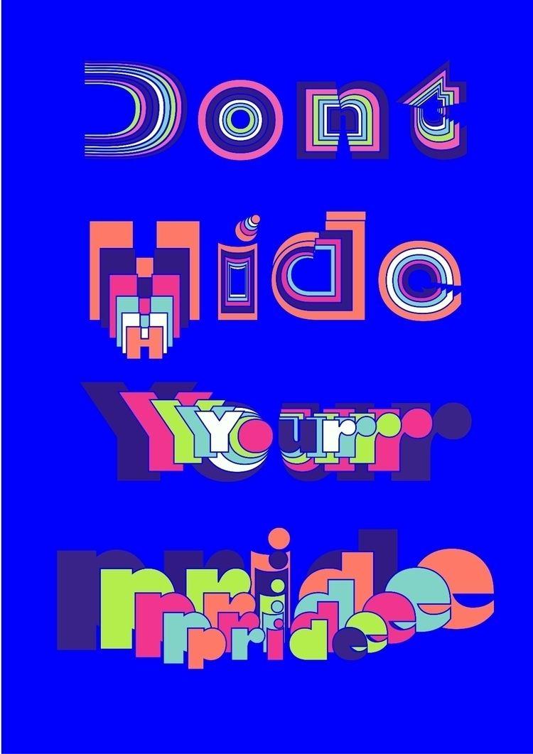 designs , ... hide - poster, pridemonth - nancykouta | ello