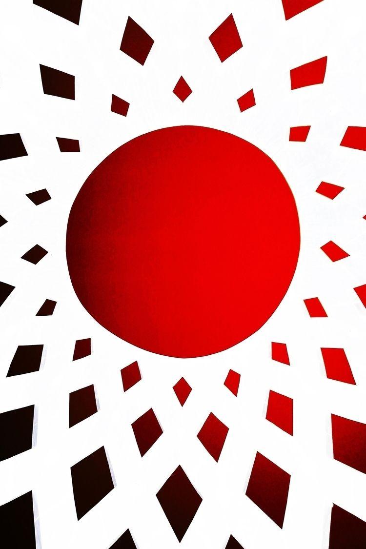 Red Sun Digital Work Istvan Ocz - istvanocztos | ello