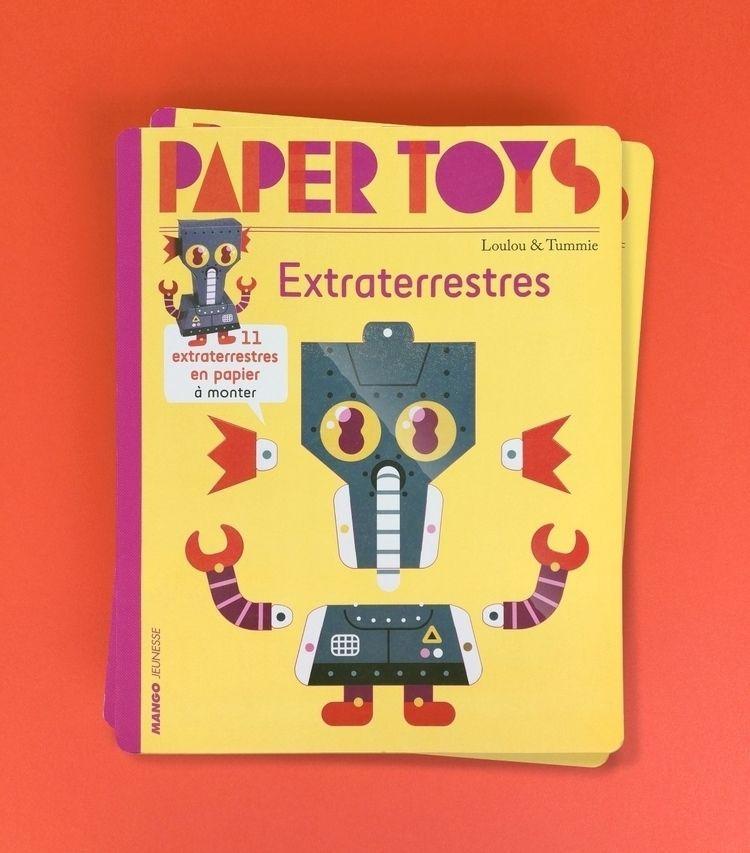 book Mango Jeunesse: Paper Toys - louloutummie | ello