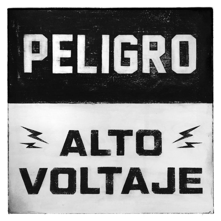 SIGN PAINTING [ ALTO VOLTAJE /  - yorymorris | ello