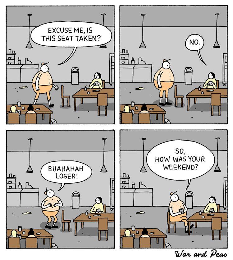 comic, webcomic, warandpeas, funny - warandpeas | ello