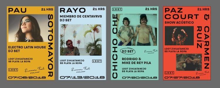 Summer Fest Series | - posters, design - axregehr | ello
