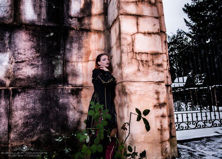 gothic, gate, architecture, snow - akinokitsune | ello
