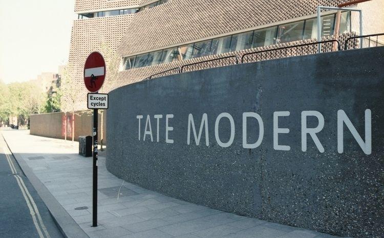 Tate Modern - analog, travel, london - tatebot | ello