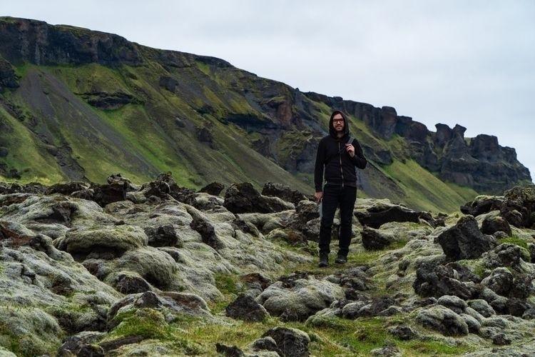 Iceland town Vík - landscape, vik - zekefranco | ello