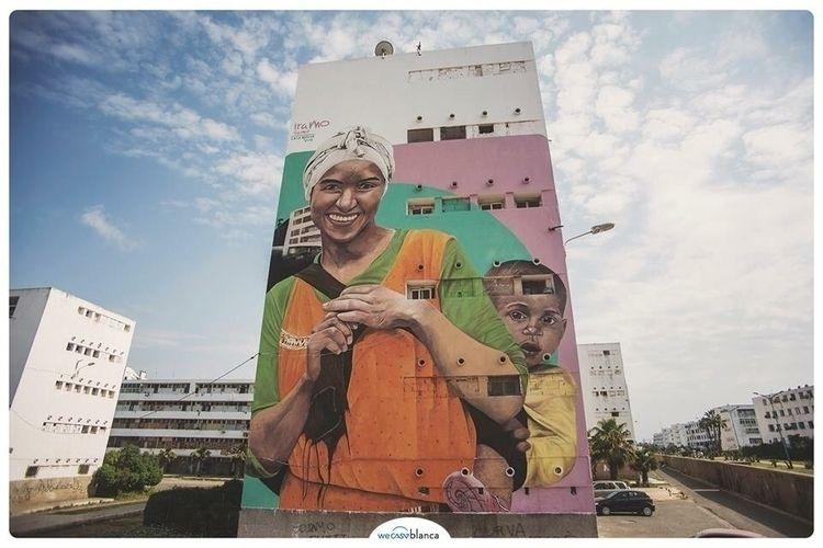 Artist: Iramo Samir wecasablanc - streetartunitedstates | ello