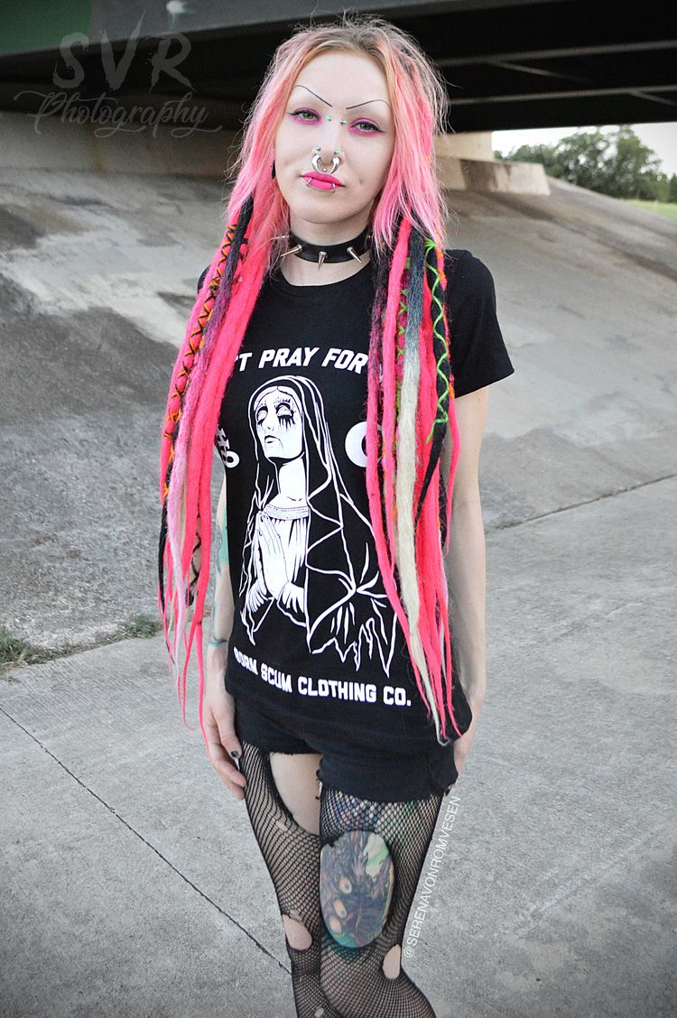 Pray Top: Born Scum Clothing Co - serenavonromvesen | ello