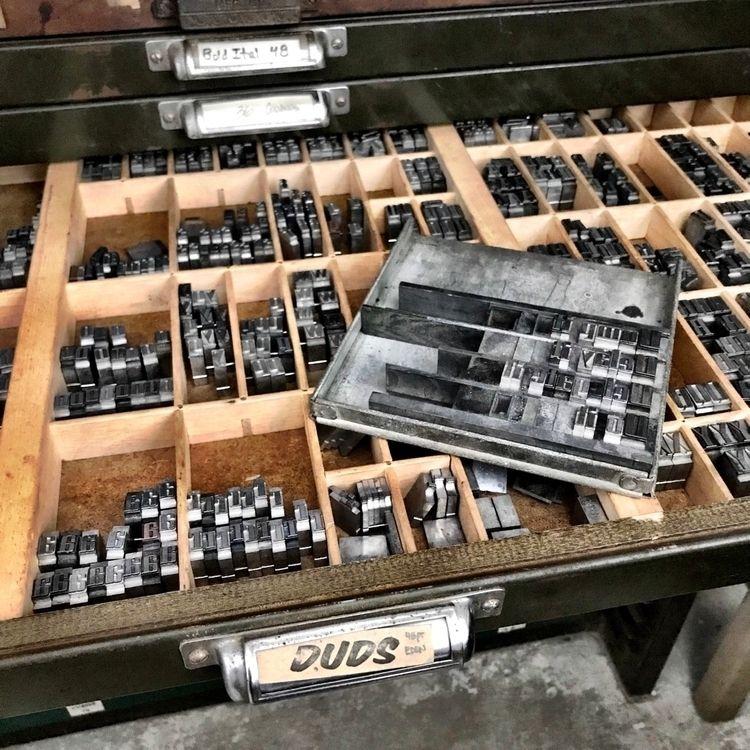 process | - letterpress - sheasmith | ello
