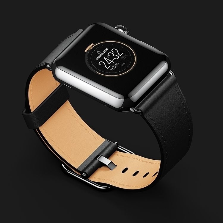 watch, face, mockup, design - flatbitstudio | ello