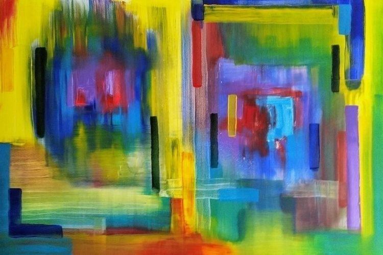 'Doors Windows', acrylic canvas - paintbook | ello