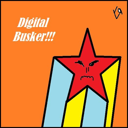 """Digital Busker!!!"" Richard Yat - richardfyates 