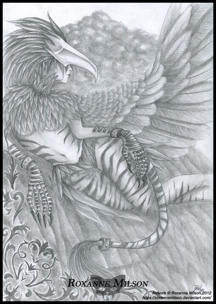 Mythical Creatures Roxanne Mils - roxannemilsonart | ello