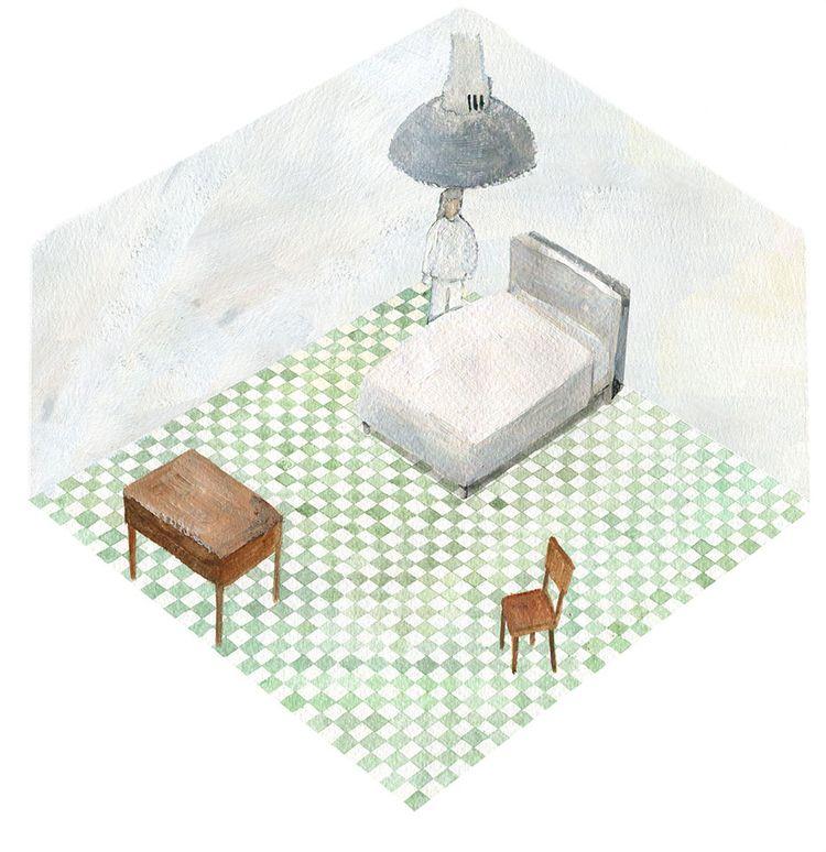 illustration, acrylic, acrylicpaint - ononlao | ello