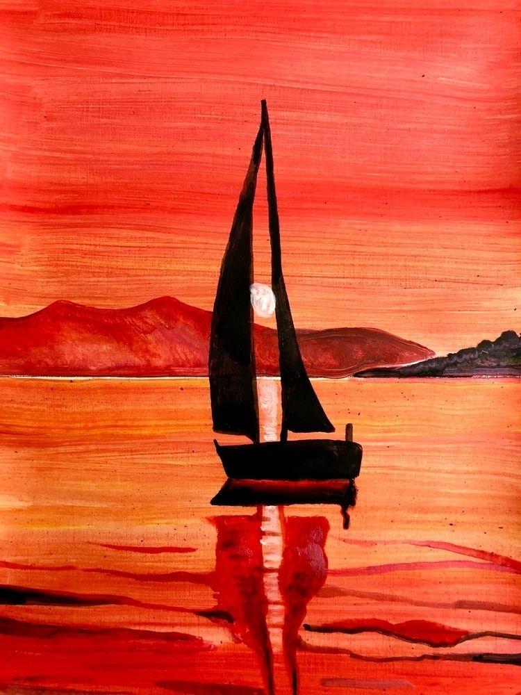 Ocean Sunset - rorqvist   ello