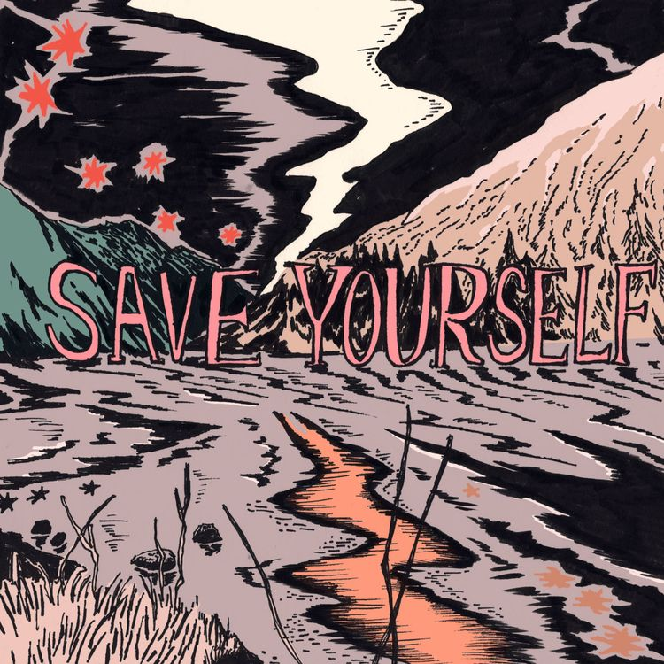 Save - Music, Albumcover, Illustration - eunjeongyoo | ello