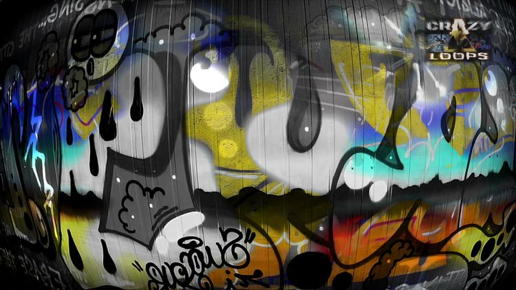 :) Graffities Mix - graffiti, street_art - crazy_loops | ello