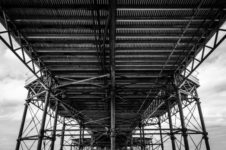 Cromer Pier - photography, blackandwhite - davidhawkinsweeks | ello