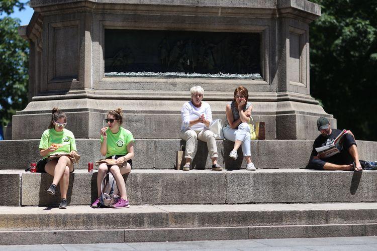 Columbus Circle, NYC People pli - kevinrubin | ello