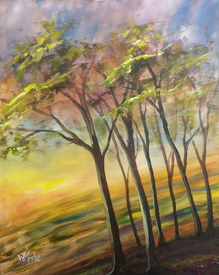Acrylic canvas, 100x80cm - paintbook | ello