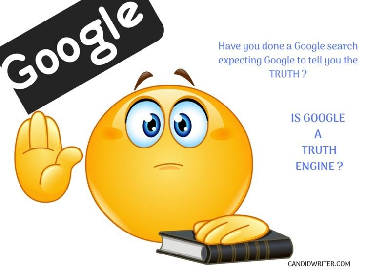 Google - Crippling Truth Engine - candidwriter | ello