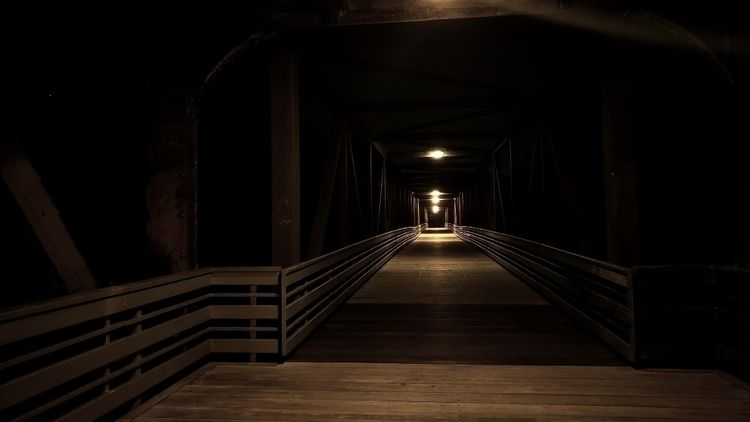 dark, color, bridge, aesthetic - alexianart | ello