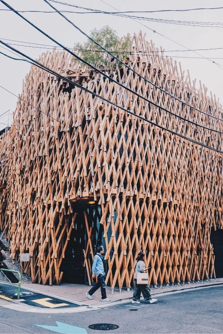 Wooden facade - architecture, Japan - matthewng | ello