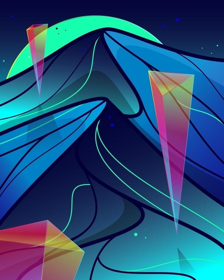 ello, abstract, illustration - caqueste | ello