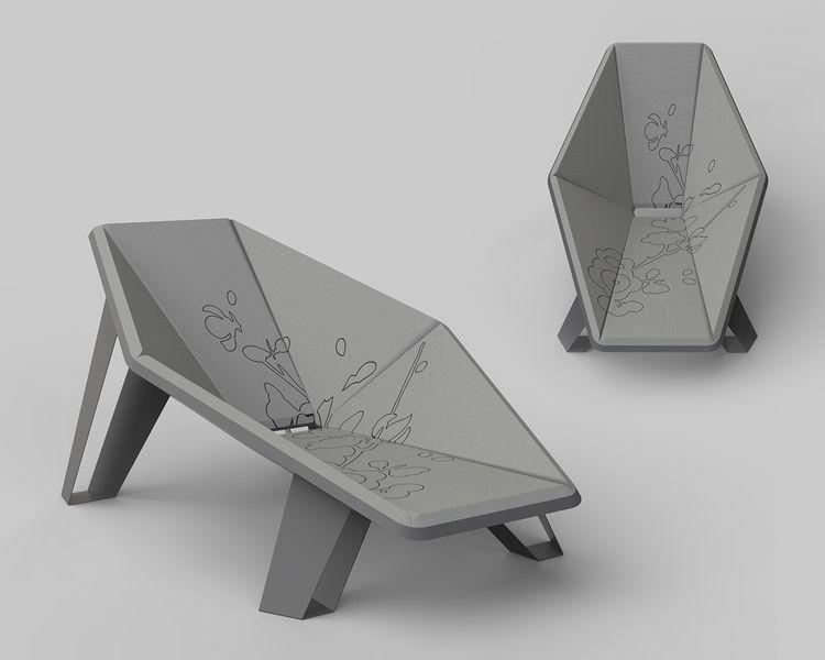 Voodoo lounge chair. Aluminum f - jamesowendesign | ello