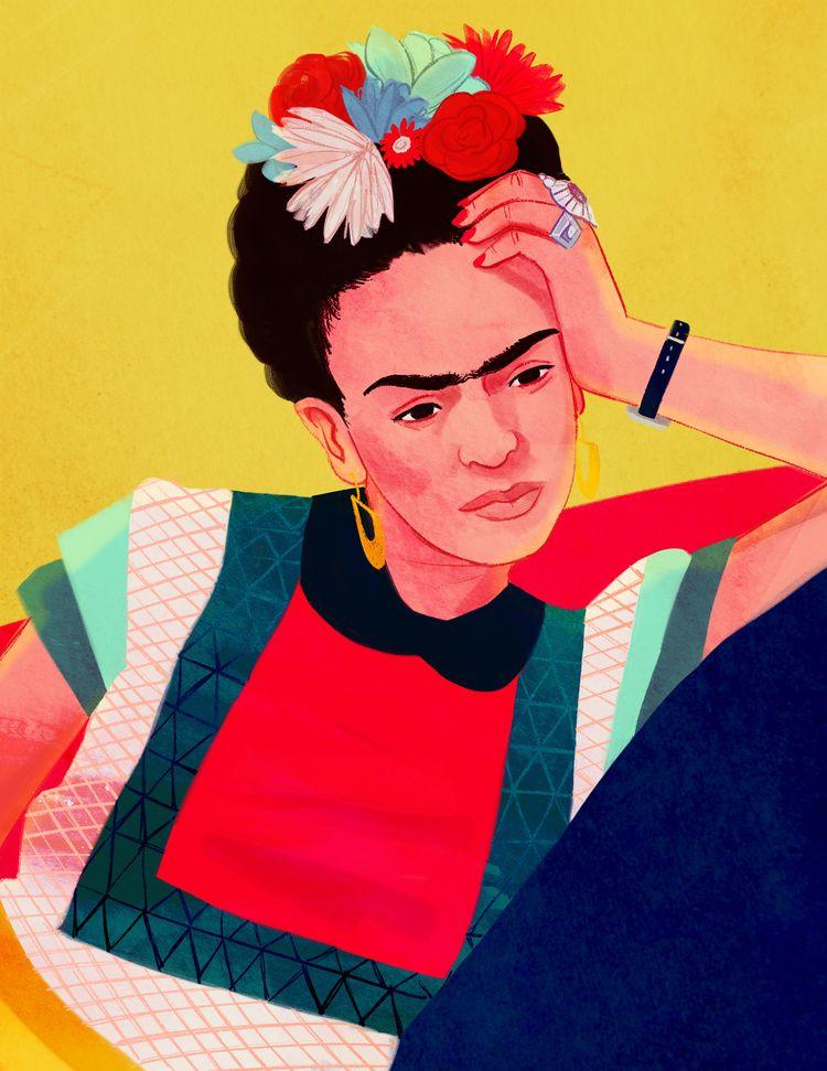 Frida - fridakahlo - cariguevara | ello