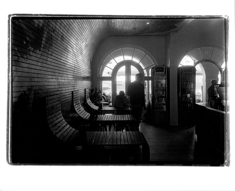 Bondi Cafe, Sydney. Silver gela - michaelfinder | ello