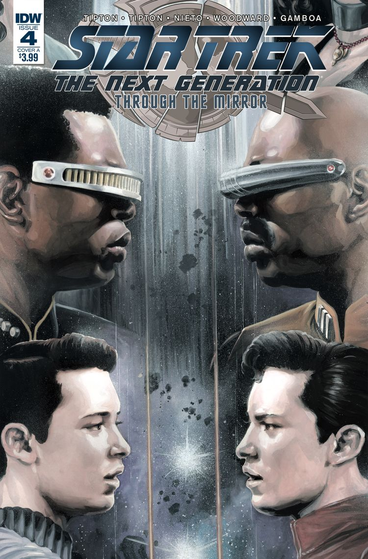 Star Trek: Generation: Mirror R - comicbuzz | ello