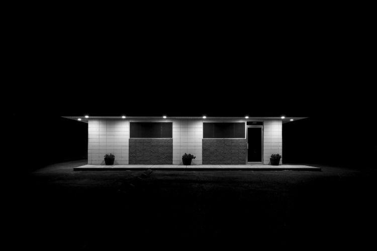 Night Scene - Office - hermiston - chrishuddleston | ello