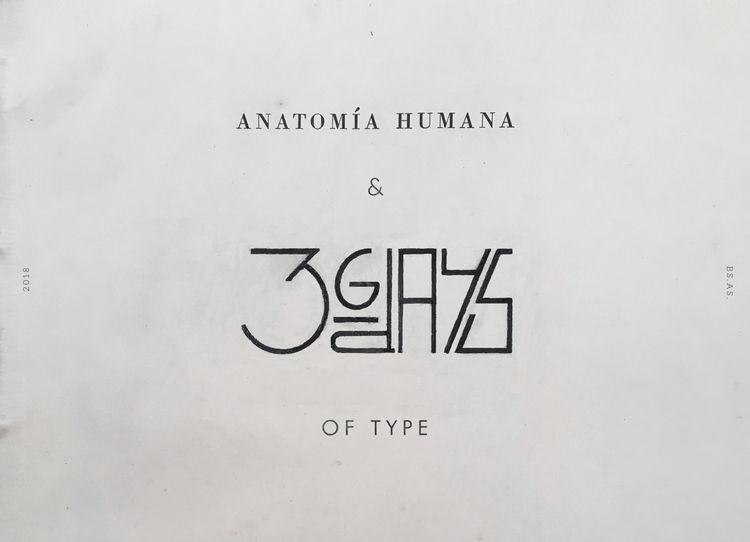 Human Anatomy 36 Days Type. Gra - federicofigueroa | ello