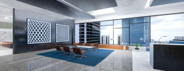 Bespoke 3D offices. challenge C - mezwik | ello