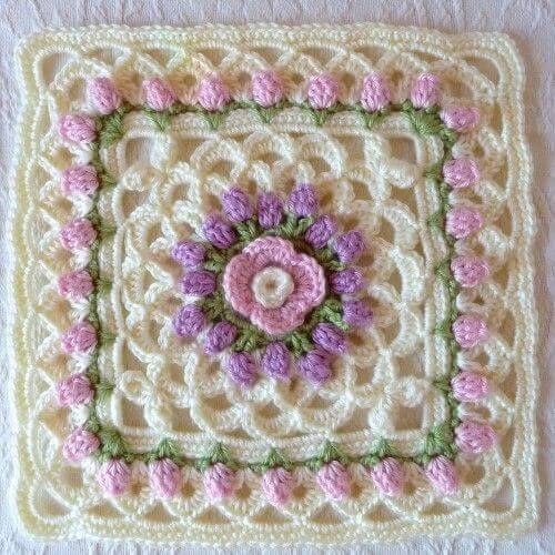 Good Morning loved crochet fram - brunacrochet | ello