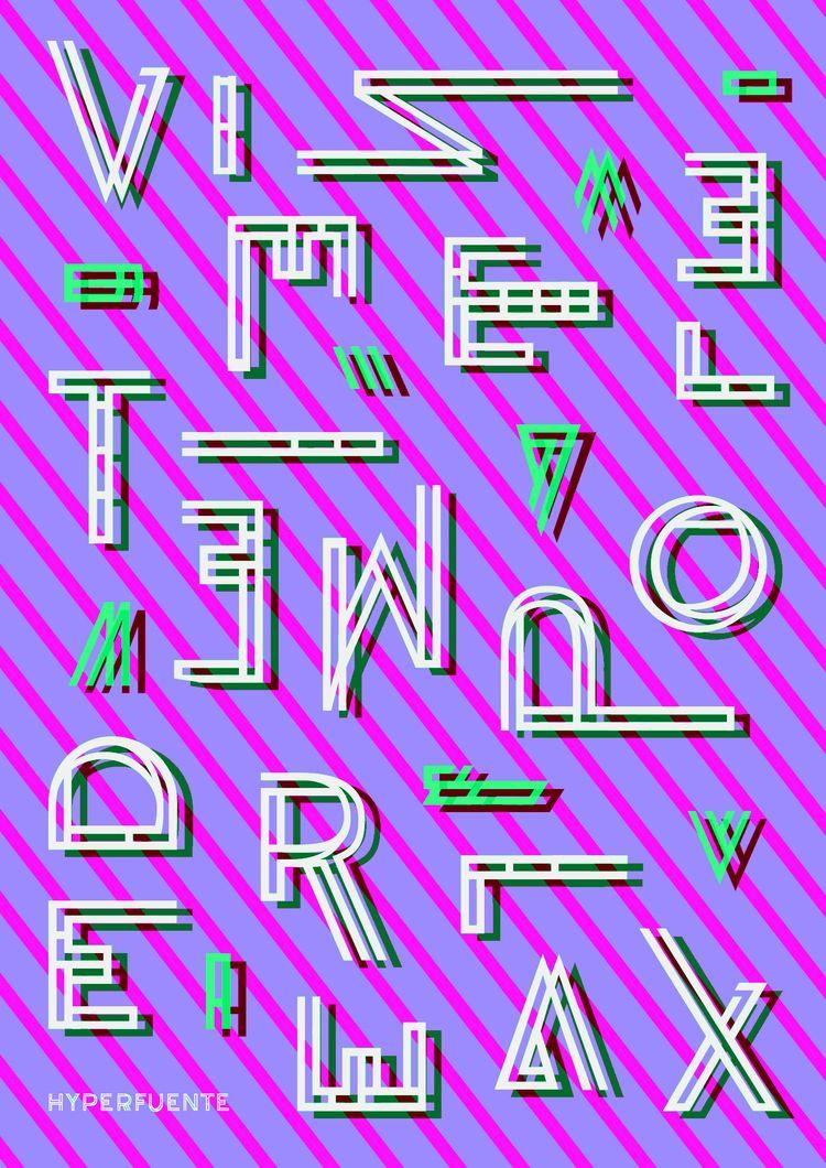 Rielly. Experimental typography - gastimo | ello