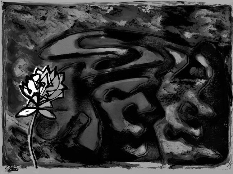 evilest, shit,, flower, grow. - bobogolem_soylent-greenberg | ello