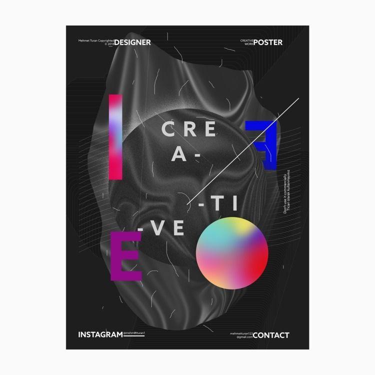 designs - poster, design - mehmetturan | ello