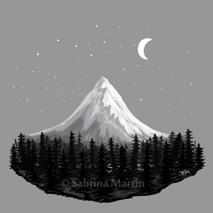 Magnificent Mountain Digital pa - sabrinam | ello