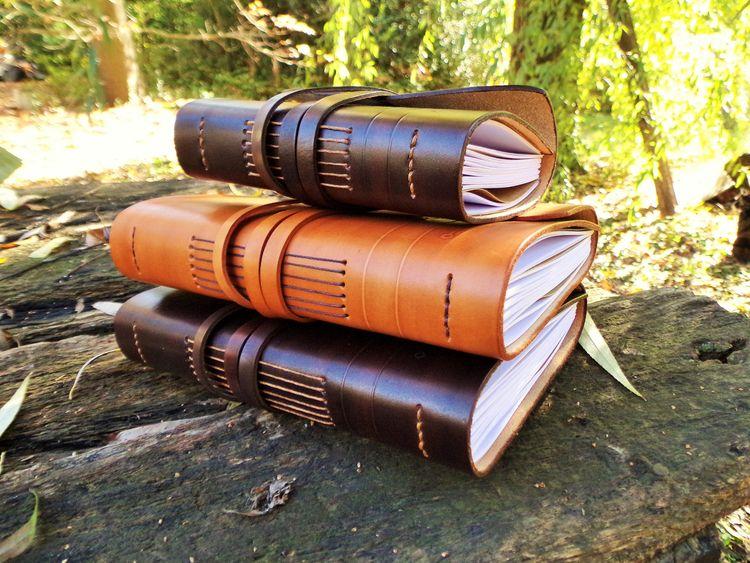 Cuaderno de cuero - Leather not - mirtanruiz | ello