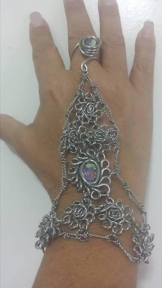 Indian Bracelet 950 Silver Ring - mrandmrsmacedo   ello